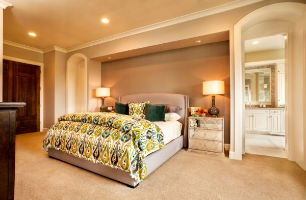 bedroom decorating ideas and designs Remodels Photos Garrison Hullinger Interior Design Inc Portland Oregon United States contemporary-bedroom-004