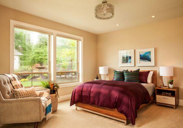 bedroom decorating ideas and designs Remodels Photos Garrison Hullinger Interior Design Inc Portland Oregon United States transitional-bedroom