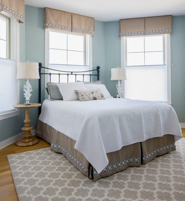 bedroom decorating ideas and designs Remodels Photos Gina Fitzsimmons ASID Annapolis Maryland United States beach-style-bedroom-006