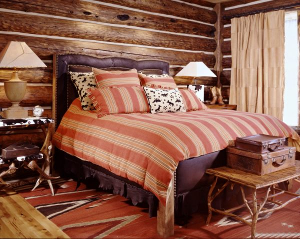 bedroom decorating ideas and designs Remodels Photos Greenauer Design Group VailColorado United States rustic-bedroom-001