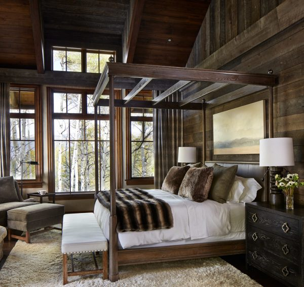 bedroom decorating ideas and designs Remodels Photos Greenauer Design Group VailColorado United States rustic-bedroom-002