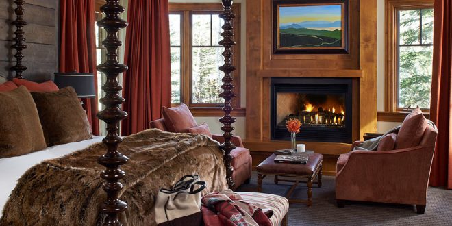 Bedroom decorating and designs by greenauer design group vail colorado united states for Interior designers vail colorado