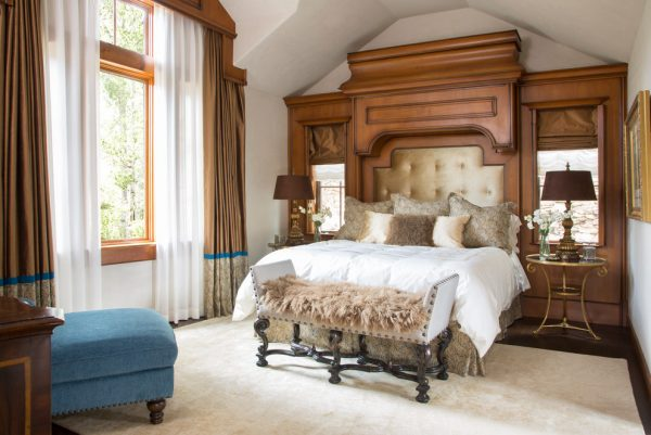 bedroom decorating ideas and designs Remodels Photos Greenauer Design Group Vail Colorado United States traditional-bedroom