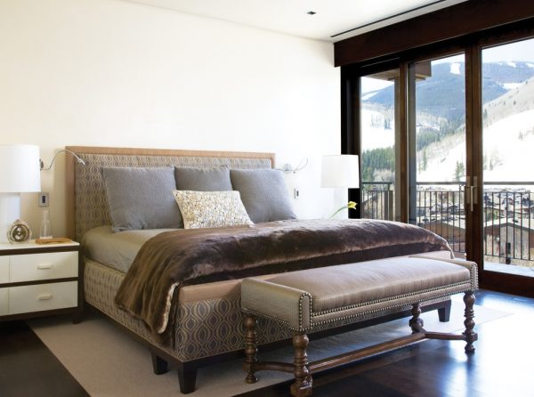 bedroom decorating ideas and designs Remodels Photos Greenauer Design Group Vail Colorado united states contemporary-bedroom-007