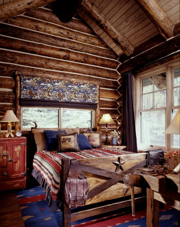 bedroom decorating ideas and designs Remodels Photos Greenauer Design Group Vail Colorado united states rustic-bedroom-004