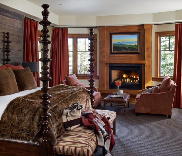 bedroom decorating ideas and designs Remodels Photos Greenauer Design Group Vail Colorado united states rustic-bedroom