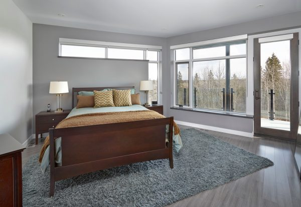 bedroom decorating ideas and designs Remodels Photos Habitat Studio Edmonton Alberta, Canada contemporary-bedroom-001
