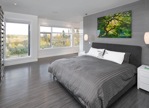 bedroom decorating ideas and designs Remodels Photos Habitat Studio Edmonton Alberta, Canada contemporary-bedroom