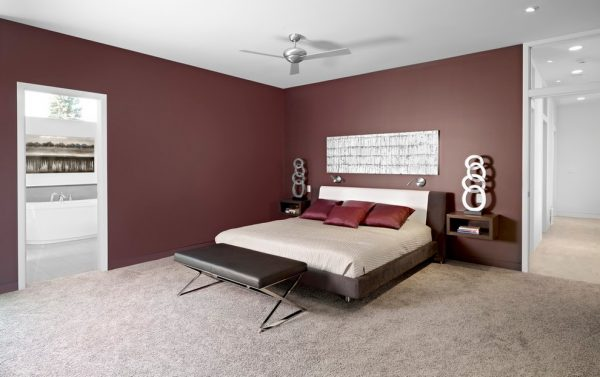 bedroom decorating ideas and designs Remodels Photos Habitat Studio Edmonton Alberta, Canada modern-bedroom