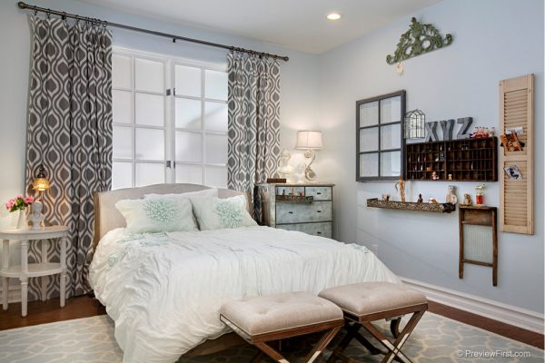 bedroom decorating ideas and designs Remodels Photos Hamilton-Gray Design, Inc. Carlsbad California United Stateseclectic-bedroom
