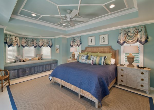 bedroom decorating ideas and designs Remodels Photos Harwick Homes Bonita Springs Florida United States beach-style-bedroom-001