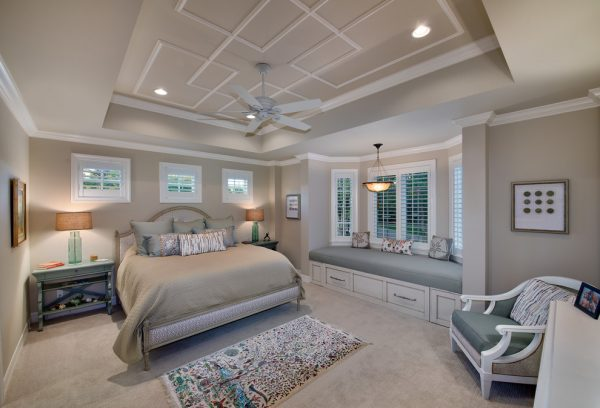 bedroom decorating ideas and designs Remodels Photos Harwick Homes Bonita Springs Florida United States beach-style-bedroom