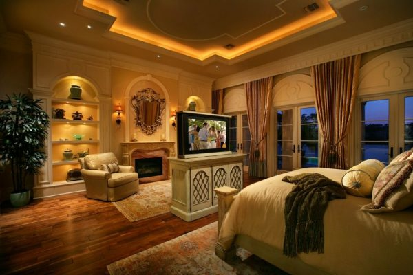 bedroom decorating ideas and designs Remodels Photos Harwick Homes Bonita Springs Florida United States mediterranean-bedroom-001