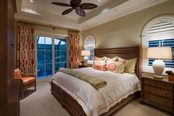 bedroom decorating ideas and designs Remodels Photos Harwick Homes Bonita Springs Florida United States traditional-bedroom-002