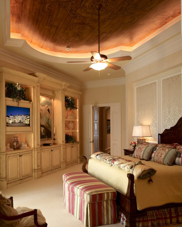 bedroom decorating ideas and designs Remodels Photos Harwick Homes Bonita Springs Florida United States traditional-bedroom-005