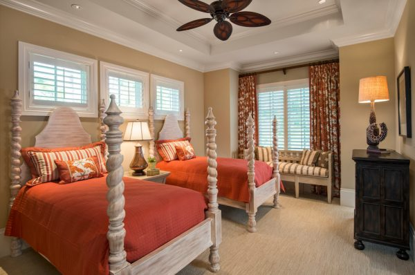 bedroom decorating ideas and designs Remodels Photos Harwick Homes Bonita Springs Florida United States traditional-bedroom-006