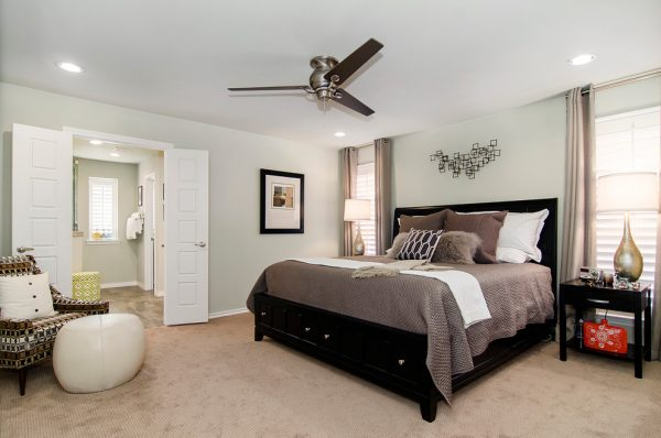 bedroom decorating ideas and designs Remodels Photos Hatfield Builders & Remodelers Plano Texas United States transitional-bathroom