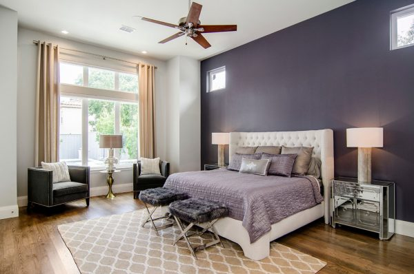 bedroom decorating ideas and designs Remodels Photos Hatfield Builders & Remodelers Plano Texas United States transitional-bedroom
