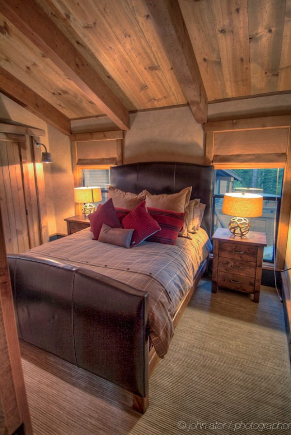 bedroom decorating ideas and designs Remodels Photos High Camp Home Truckee California united states rustic-001