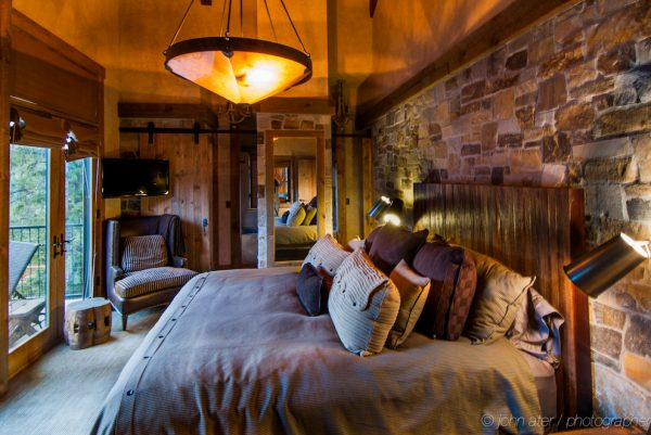 bedroom decorating ideas and designs Remodels Photos High Camp Home Truckee California united states rustic-002