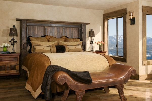 bedroom decorating ideas and designs Remodels Photos High Camp Home Truckee California united states rustic-bedroom-015