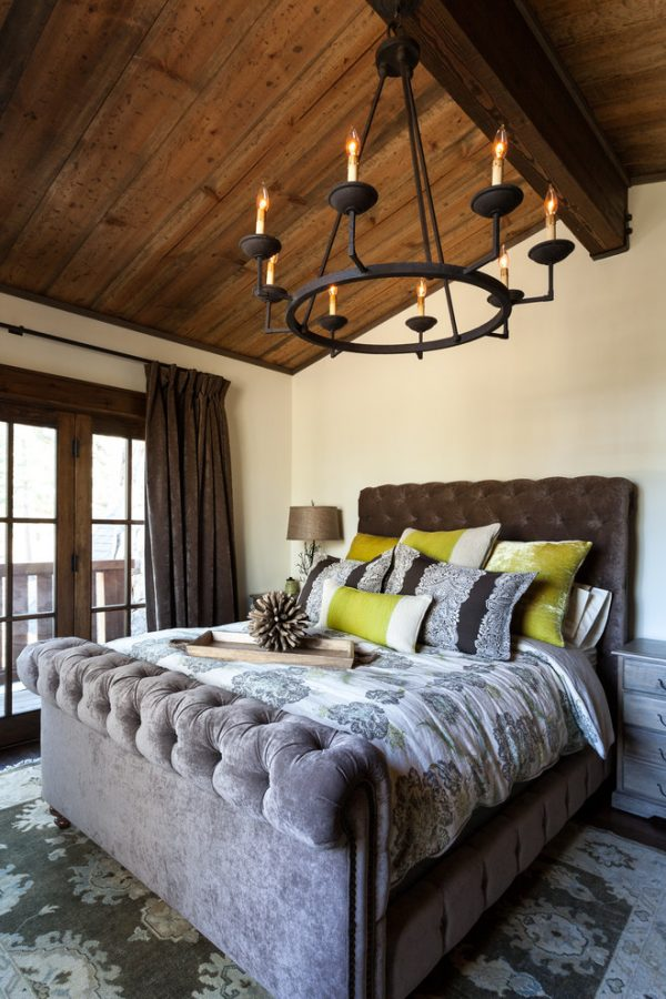 bedroom decorating ideas and designs Remodels Photos High Camp Home Truckee California united states rustic-bedroom-023