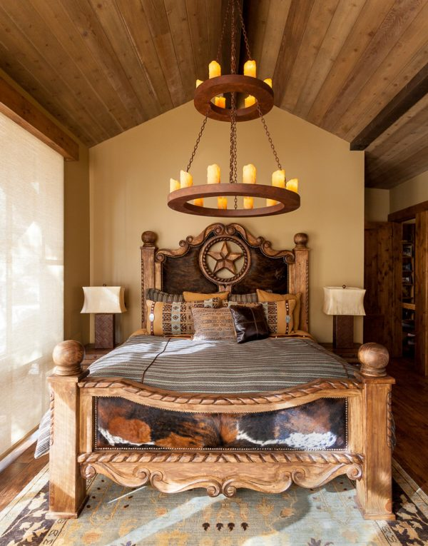 bedroom decorating ideas and designs Remodels Photos High Camp Home Truckee California united states southwestern-bedroom