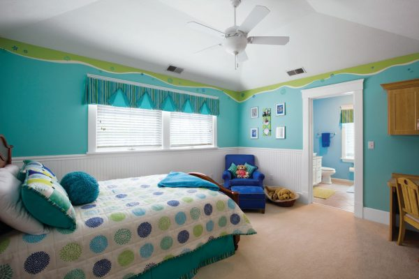 bedroom decorating ideas and designs Remodels Photos Housetrends Magazine Cincinnati Ohio United States traditional-kids-002