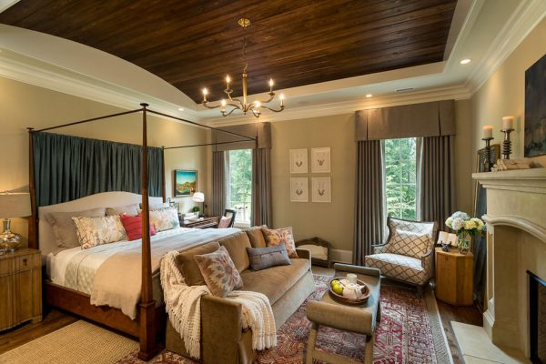 bedroom decorating ideas and designs Remodels Photos ID Studio Interiors Greenville South Carolina United States traditional-bedroom-001