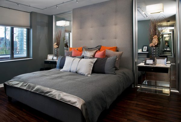 bedroom decorating ideas and designs Remodels Photos Inspired Interiors ChicagoIllinois United States contemporary-bedroom-001