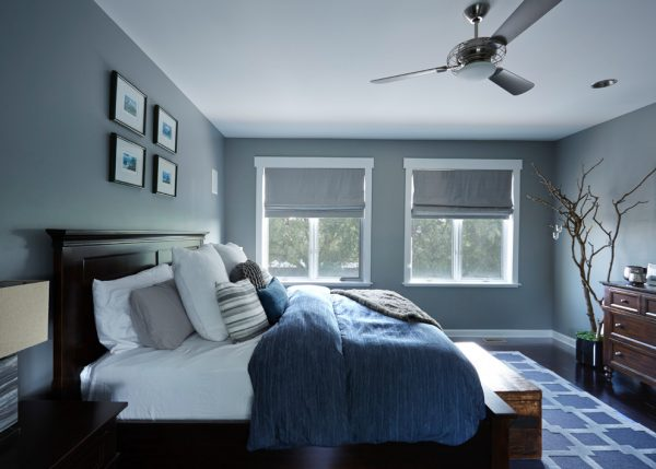 bedroom decorating ideas and designs Remodels Photos Inspired Interiors Chicago Illinois United States transitional-bedroom