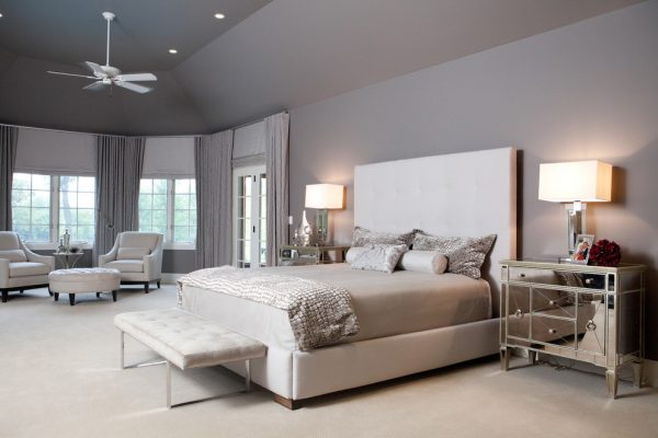 bedroom decorating ideas and designs Remodels Photos Interior Enhancement Group, Inc. Inverness Illinois United States contemporary-bedroom-004
