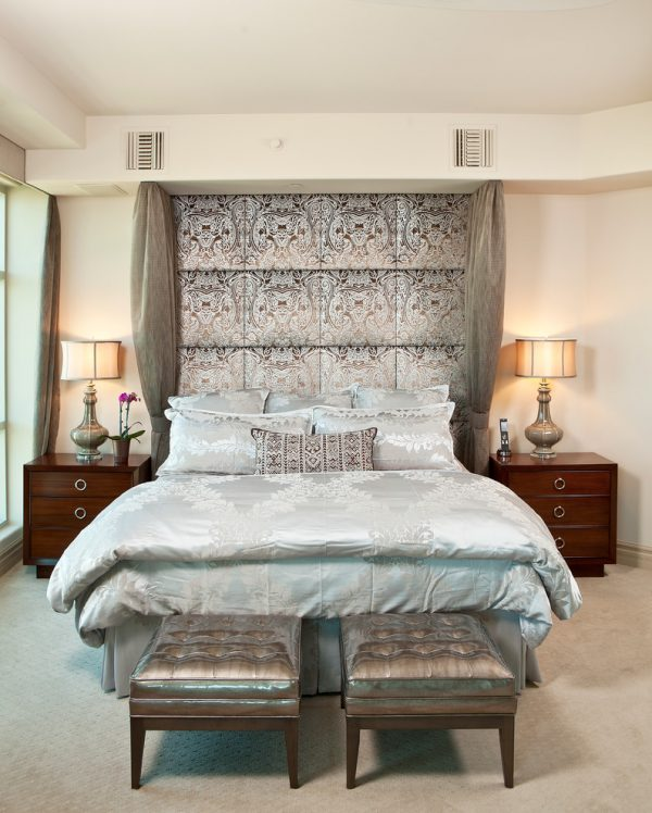 bedroom decorating ideas and designs Remodels Photos Interiors by Cary Vogel Las Vegas Nevada United States transitional-bedroom-001