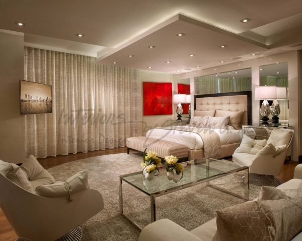 bedroom decorating ideas and designs Remodels Photos Interiors by Steven G Pompano Beach Florida United States contemporary-bedroom-017