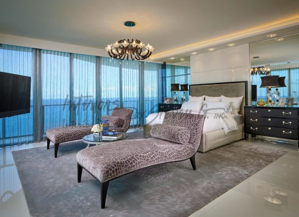 bedroom decorating ideas and designs Remodels Photos Interiors by Steven G Pompano Beach Florida United States transitional