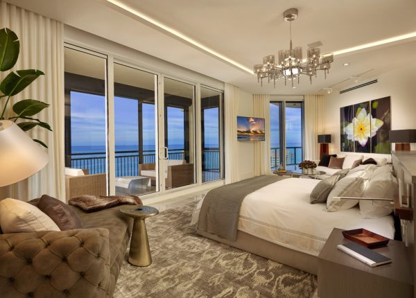 bedroom decorating ideas and designs Remodels Photos Interiors by Steven G Pompano Beach Florida United States transitional-bedroom-003