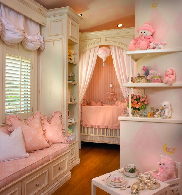 bedroom decorating ideas and designs Remodels Photos Interiors by Steven G Pompano Beach Florida United States transitional-nursery