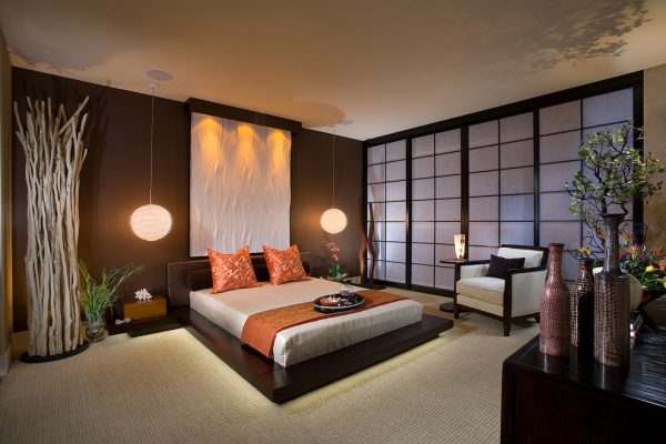 bedroom decorating ideas and designs Remodels Photos International Custom Designs Irvine California United States asian-bedroom-001