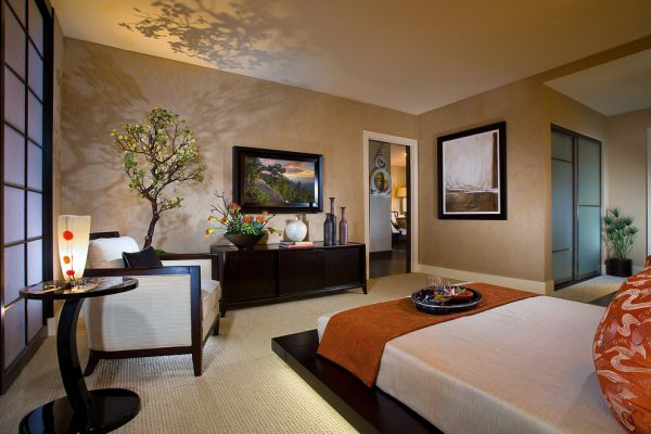 bedroom decorating ideas and designs Remodels Photos International Custom Designs Irvine California United States asian-bedroom