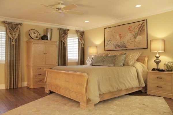 bedroom decorating ideas and designs Remodels Photos J. Hettinger Interiors Alamo California United States asian-bedroom