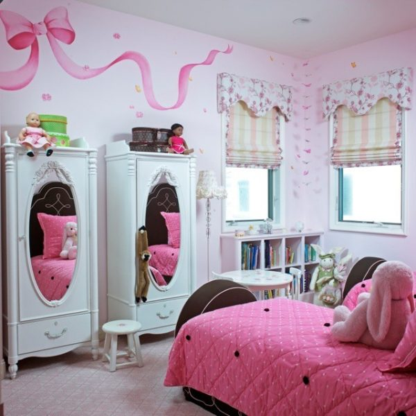 bedroom decorating ideas and designs Remodels Photos Joani Stewart-Georgi - Montana Ave. Interiors contemporary-kids-001