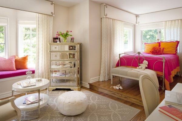 bedroom decorating ideas and designs Remodels Photos Joani Stewart-Georgi - Montana Ave. Interiors eclectic-kids