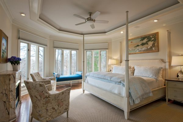 bedroom decorating ideas and designs Remodels Photos June DeLugas Interiors Clemmons North Carolina traditional-bedroom