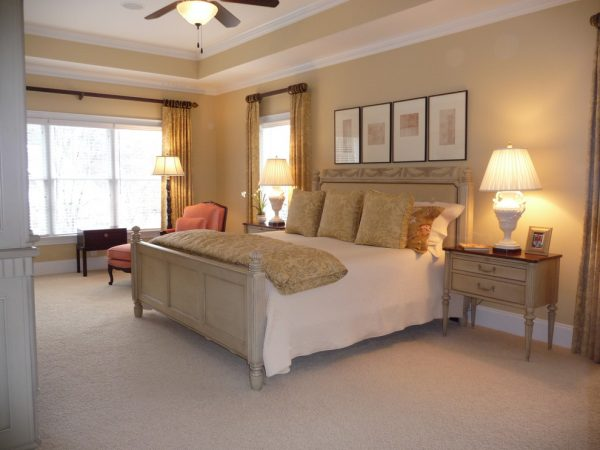 bedroom decorating ideas and designs Remodels Photos June DeLugas Interiors Clemmons North Carolina transitional-bedroom