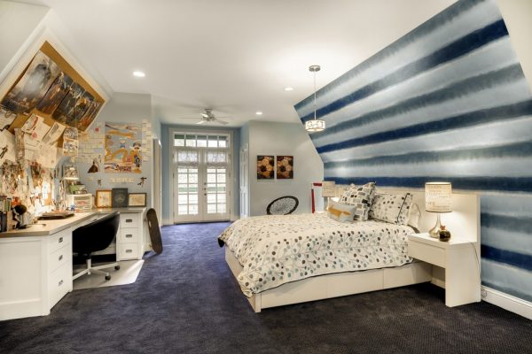 bedroom decorating ideas and designs Remodels Photos KBI Interior Design Studios Edina Minnesota United States transitional-kids-001