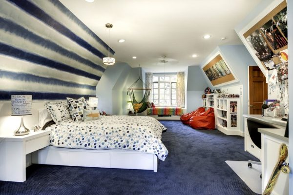 bedroom decorating ideas and designs Remodels Photos KBI Interior Design Studios Edina Minnesota United States transitional-kids