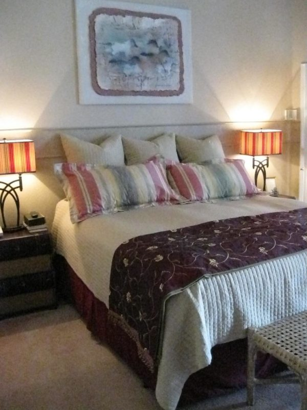 bedroom decorating ideas and designs Remodels Photos Karen Cole Designs Carlsbad California United States craftsman-bedroom