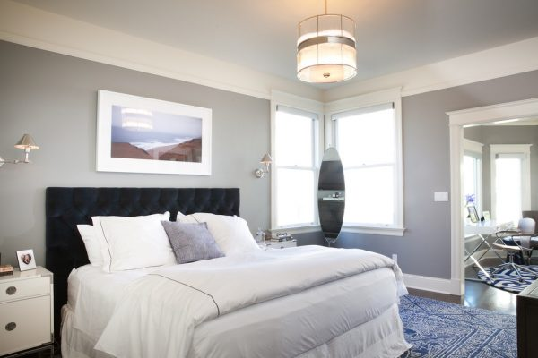 bedroom decorating ideas and designs Remodels Photos Kari McIntosh Design San Francisco California United States modern-bedroom