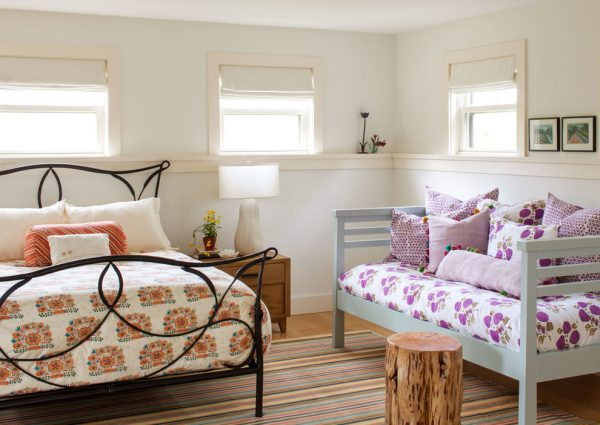 bedroom decorating ideas and designs Remodels Photos Kate Maloney Interior Design Somerville Massachusetts united states beach-style-bedroom
