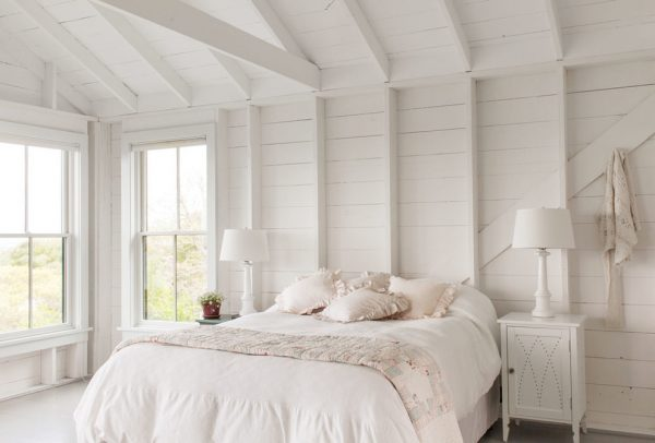 bedroom decorating ideas and designs Remodels Photos Kate Maloney Interior Design Somerville Massachusetts united states shabby-chic-style-bedroom